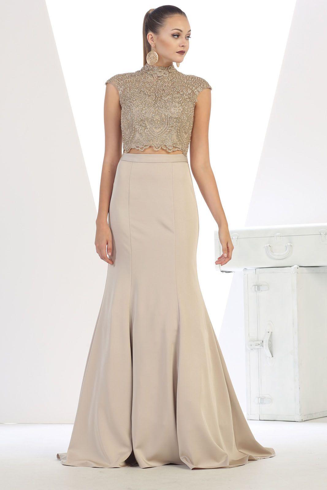 de70921c97d Royal Queen Two Piece Semi Formal Dance Gown-Style  RQ7442 ...