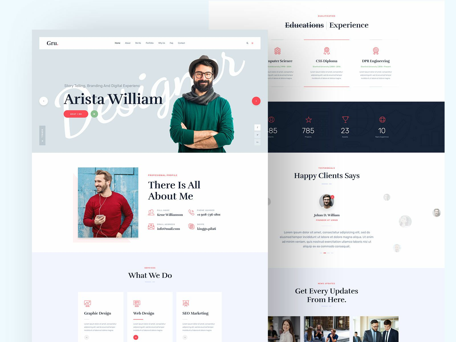Aabot Creative Portfolio Cv Bio Website In 2021 Creative Portfolio Portfolio Website Design Portfolio Website Inspiration