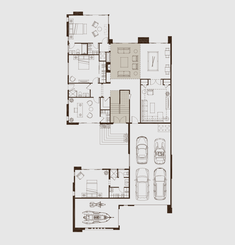 Two Story Master Retreat House Plans Mansion Luxury House Plans House Blueprints