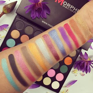"""Yes, swatch your arm SO HARD.   25 Photos That Will Make All Makeup Addicts Say """"Oh God, Yes!"""""""