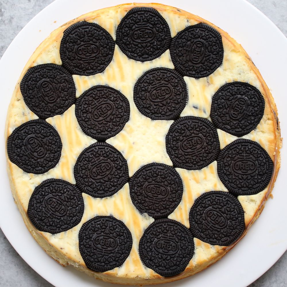Upside Down Oreo Cheesecake images
