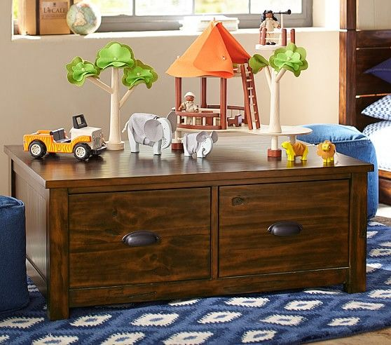coffee table sawyer activity table pottery barn kids family room pinterest barn. Black Bedroom Furniture Sets. Home Design Ideas