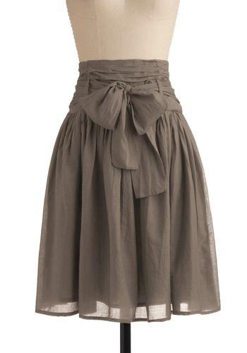 Mod cloth skirt. Love it!