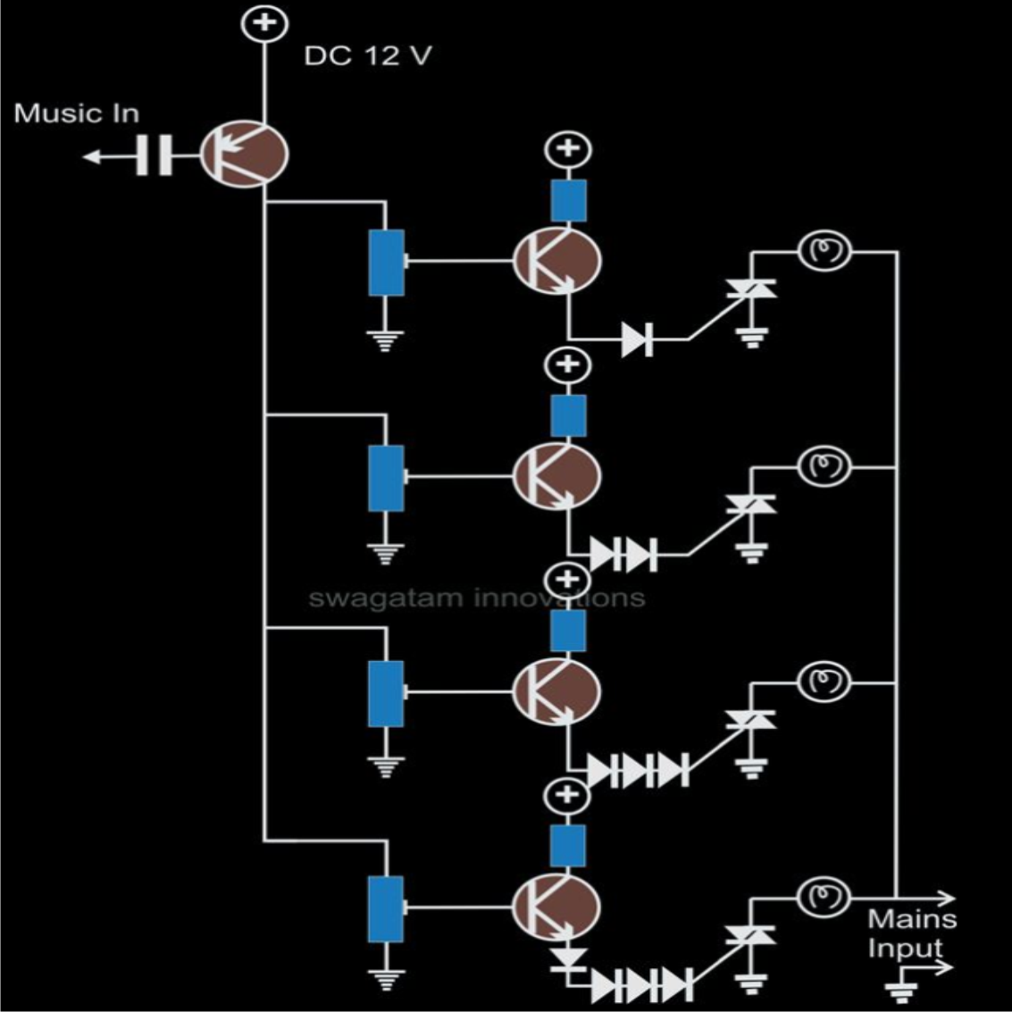 A Few Of The Interesting And Useful Hobby Electronic Circuit Circuits Dc Power Supply Ac Forward Transformerless To Diagrams Already Published In This Blog