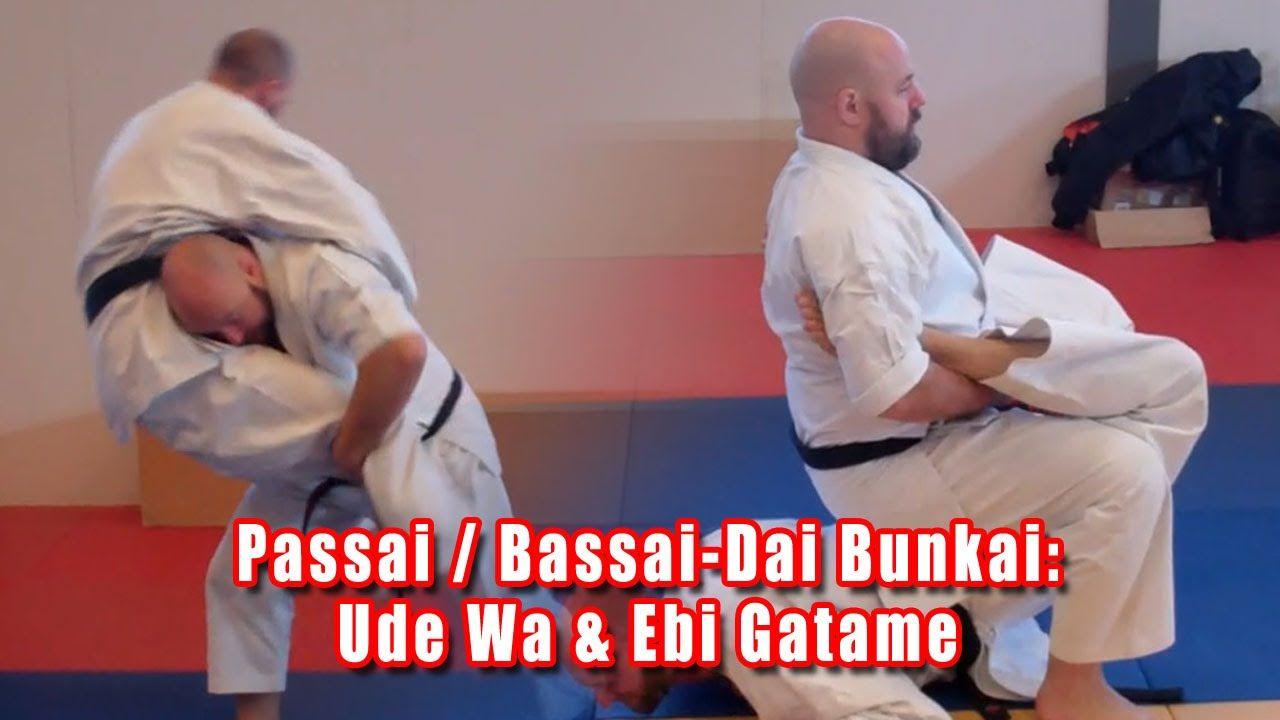 Practical Kata Bunkai: Passai / Bassai-Dai (Gichin Funakoshi's Ude Wa & ...