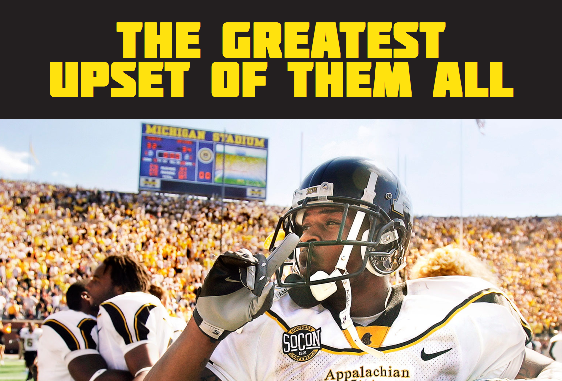 Sports Illustrated Seven years ago undersung Appalachian