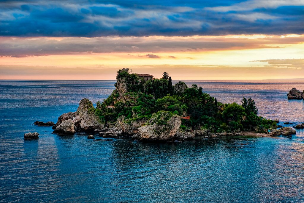 Isola di Taormina, very small but with such an amazing