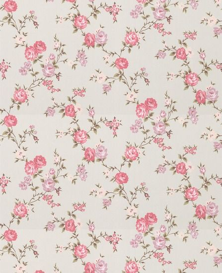 Small Flowers I Love Wallpapers Rose Cottage Wallpaper