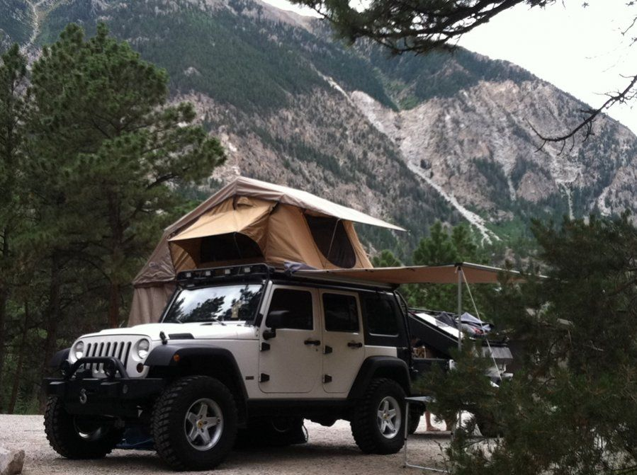Arb Simpson Iii Tent On Top Of Gobi Rack My Dream Camping Setup