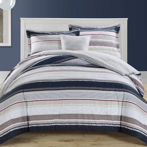 Found it at Wayfair - Fulton 4 Piece Comforter Set