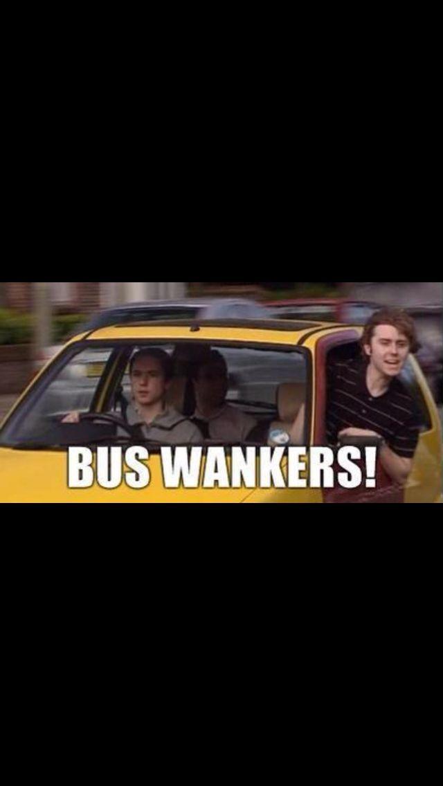 Inbetweeners Bus Wankers Comedy Tv Funny Films Inbetweeners Quotes