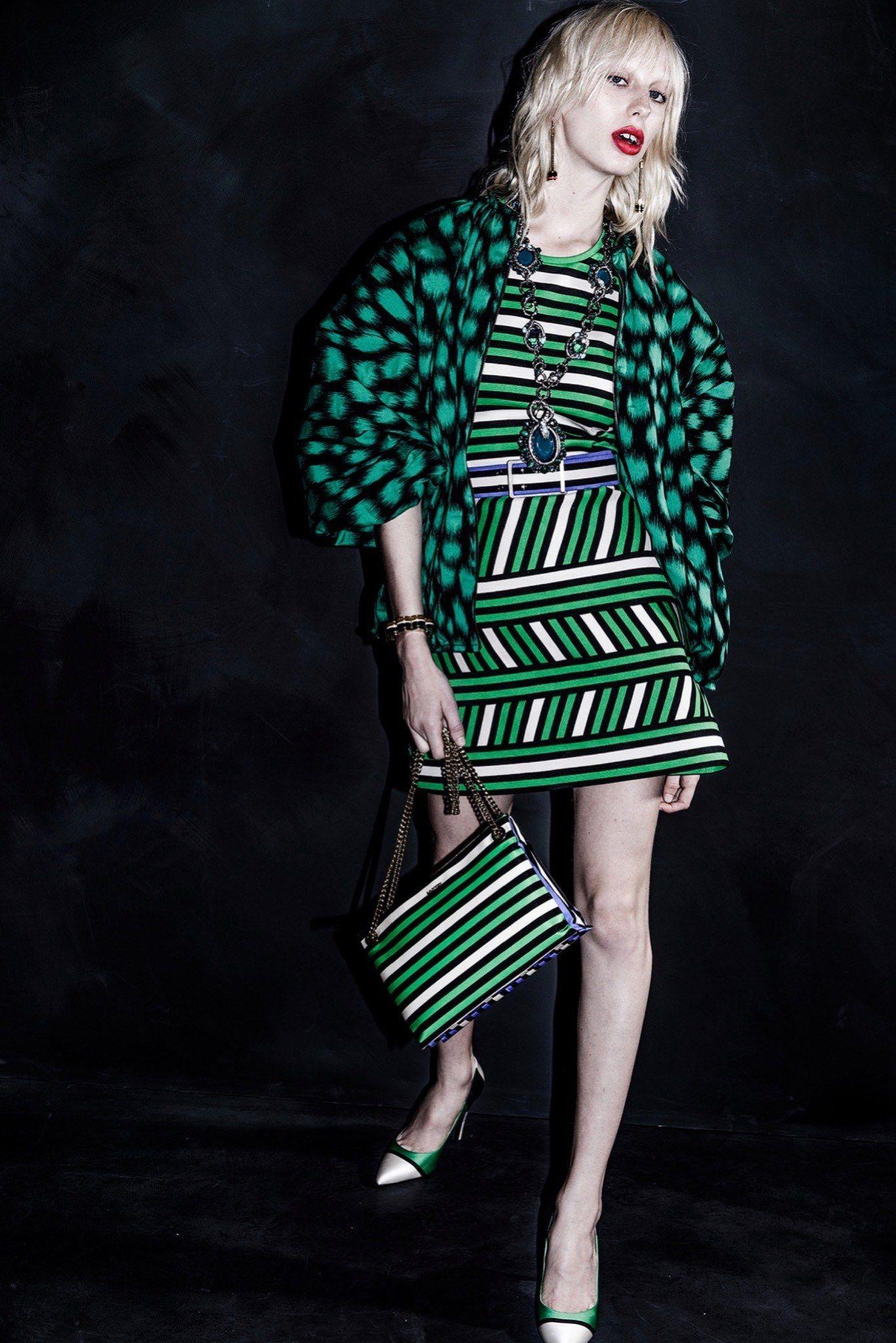Lanvin Resort 2016 Fashion Show - Lili Sumner