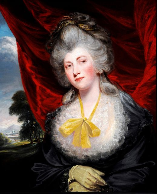 Isabella Ingram-Seymour-Conway, Marchioness of Hertford (1759 - 1834). Mistress of George IV from 1807 to 1819.