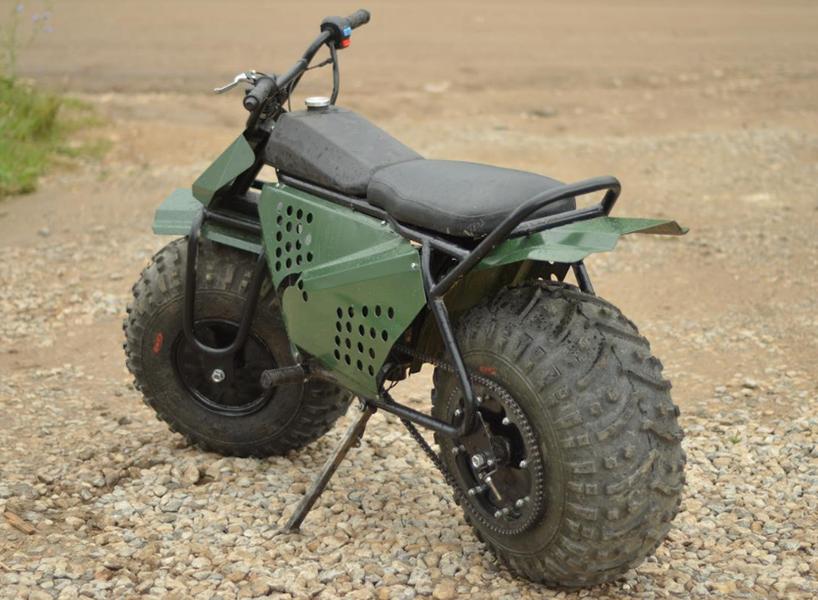 tarus 2x2 motorcycle on