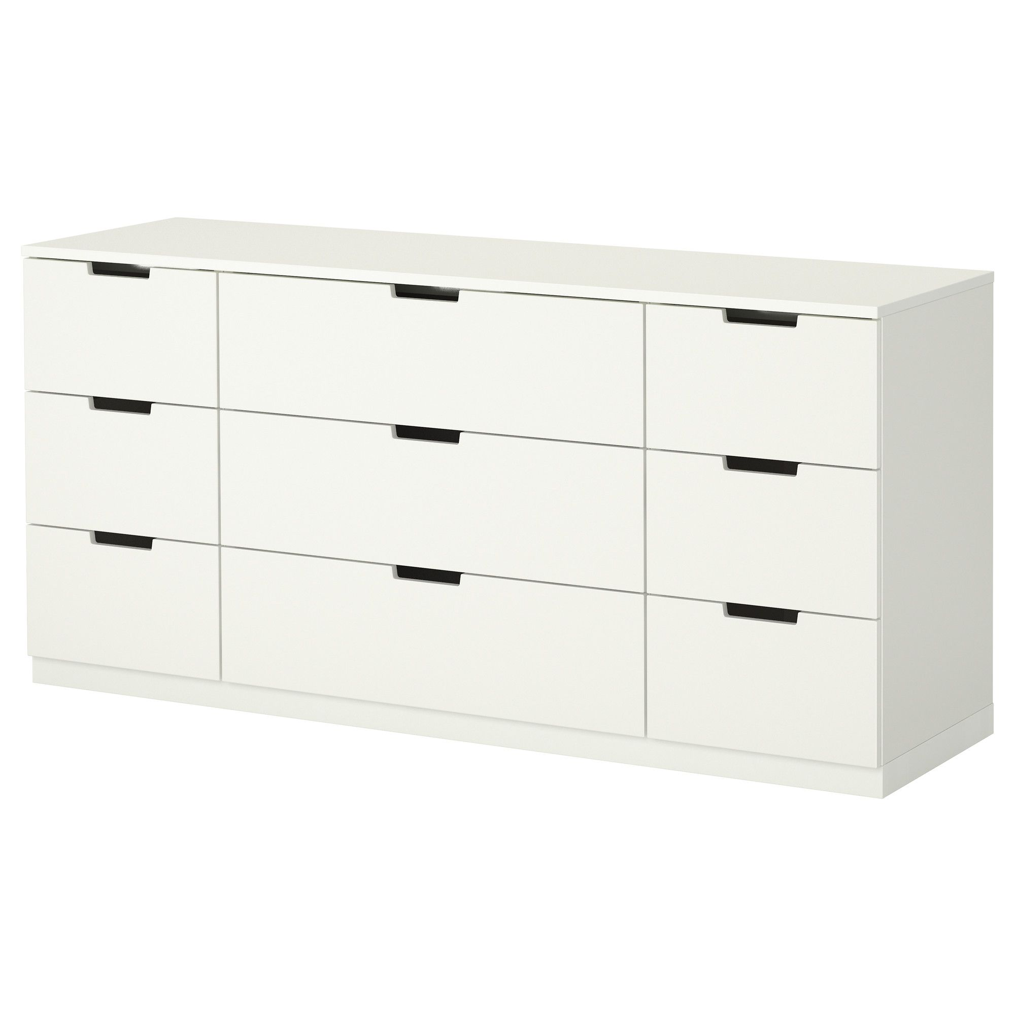 Bedroom storage. NORDLI 9 drawer chest  white   Drawers  Dresser storage and Dresser