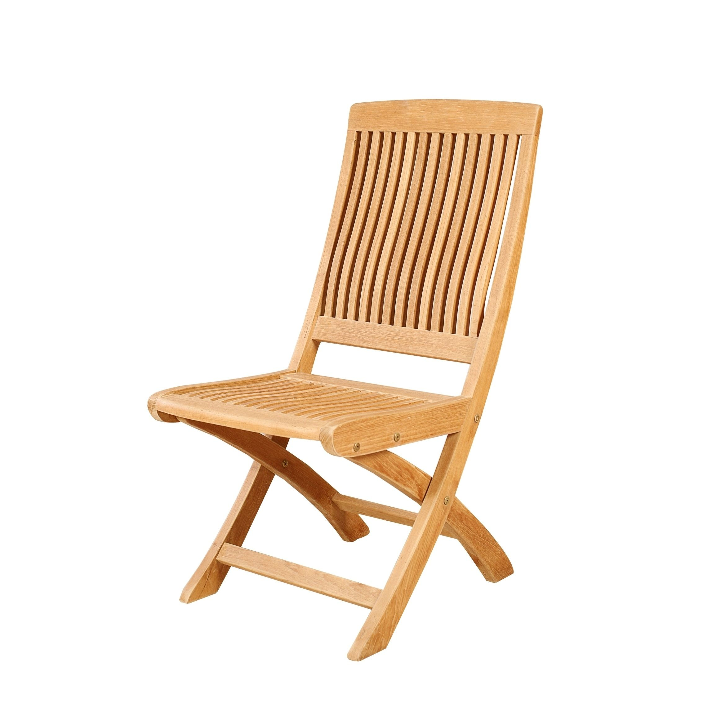 Patio Folding Chairs Hiteak Asa Outdoor Teak Folding Chair Natural Size Single Patio