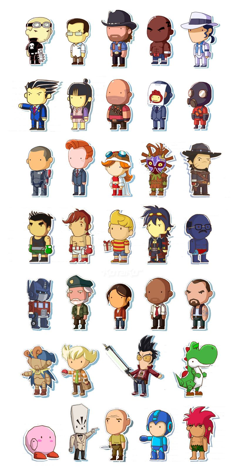 If Only These Characters Were Actually In Scribblenauts