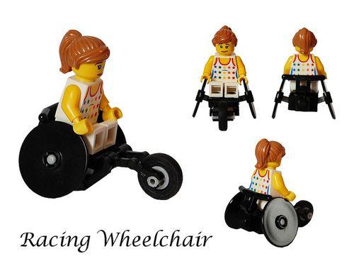 theoriginalbrickengraver: Paralympic Racing Wheelchair by