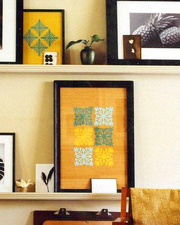 36 Paper Crafts Anyone Can Make   Paper wall art, Hawaiian quilts ...