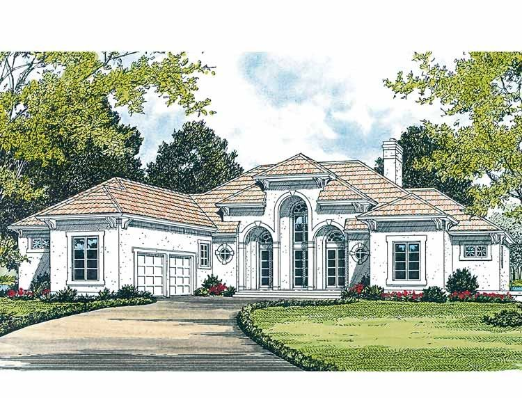 Mediterranean Style House Plan 4 Beds 4 5 Baths 4482 Sq Ft Plan 453 313 Mediterranean Style House Plans Mediterranean Homes Basement House Plans