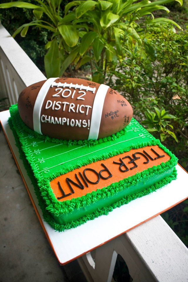 Football Champs Cake