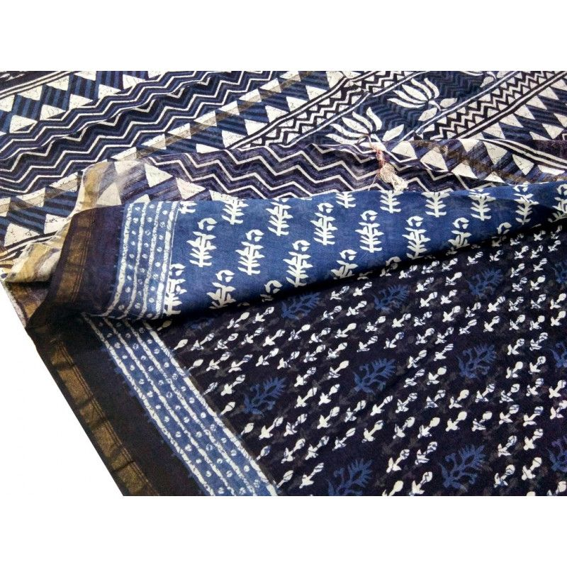 This Block Printed Chanderi Saree is made of Mercerised Cotton weft and Silk warp.Length is approx. 6.25 meter,and width is approx 45 inches. Chanderi is famous for its handwoven sarees,is a renowned centre for it's traditional weavers. Chanderi sarees have unmatched sophistication and are popular among the Indian upper middle class saree wearers.Chanderi fabric is known for its sheer texture,light weight and a glossy transparency.   #ChanderiSarees #HandloomSarees #BlockPrintedChanderiSaree