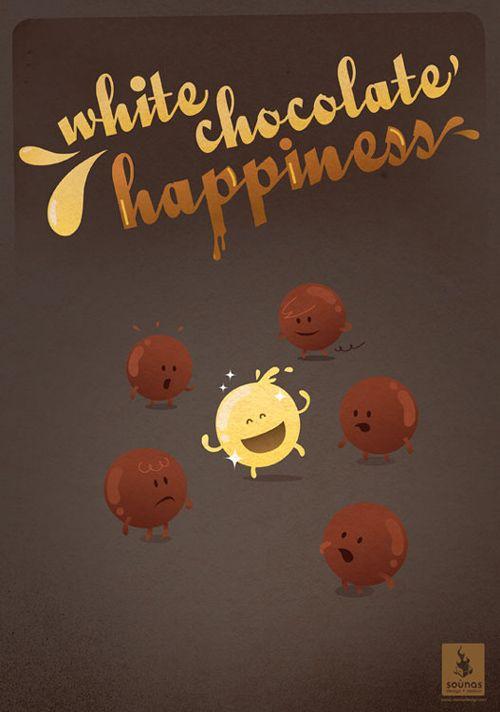 White chocolate happiness