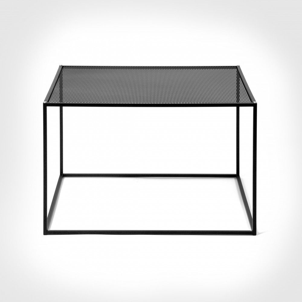 Buster Punch Meshed Coffee Table Black Metal Mesh Furniture Metal Coffee Table Coffee Table Modern Drinks Cabinet