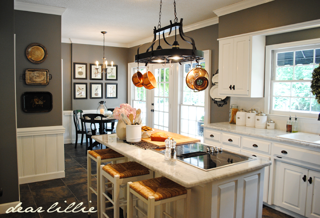 Keuken Make Over : Matt and meredith s huge kitchen makeover by dear lillie for the
