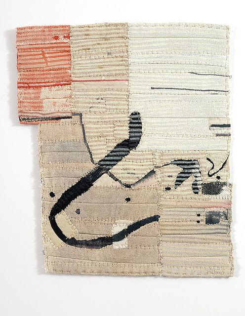 In love with Matthew Harris' cloth fragments