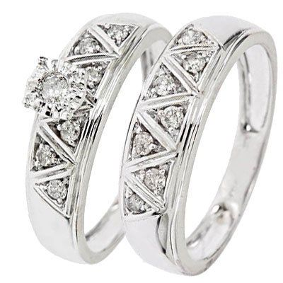 Diamond Wedding Band in 10K Yellow Gold 1//6 cttw, Size-11.5 G-H,I2-I3