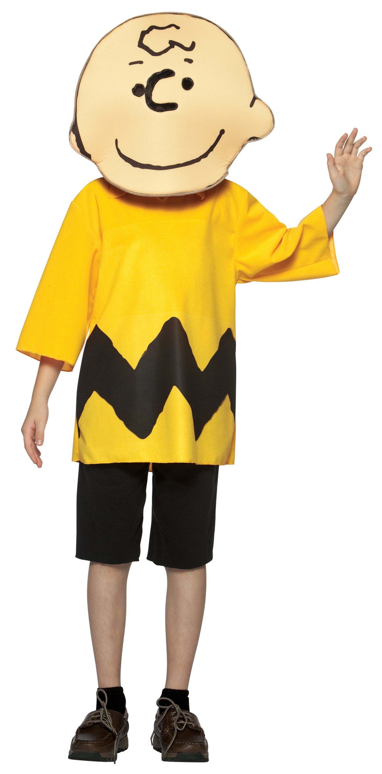 Peanuts Charlie Brown Child Costume 7-10   Yellow Costumes ...