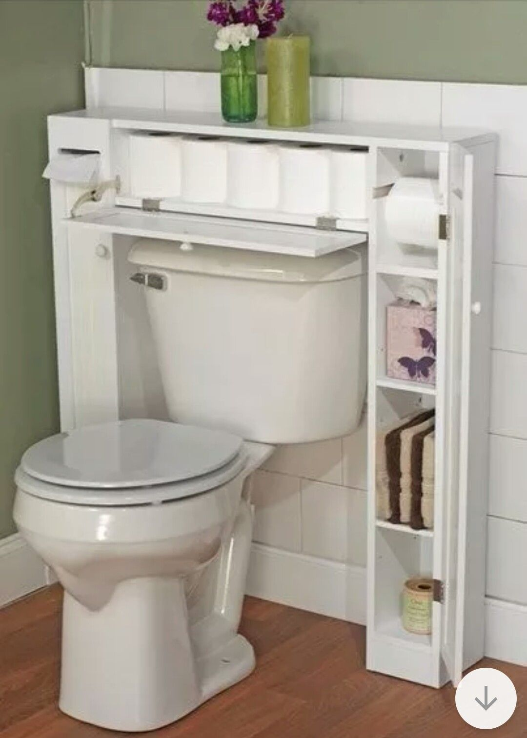 Bathroom Storage Ideas For Small Apartments   Secret Drawer For Toilet Roll    Click Pic For 44 Easy Organization Ideas For The Home