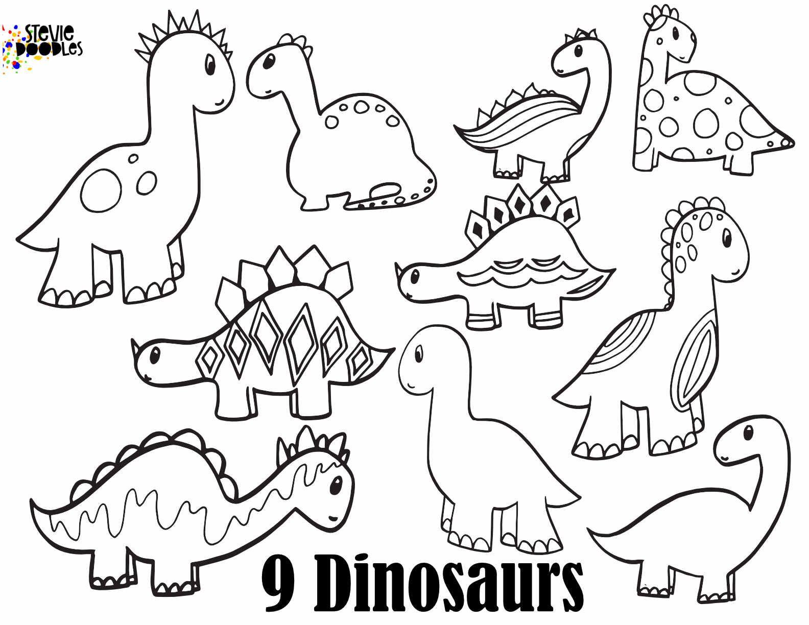 DINOSAUR NUMBERS - Free Numbers 1 - 10 printable dinosaur ...