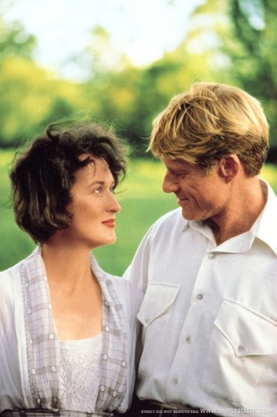 Robert Redford and Meryl Streep. I absolutely love this movie...it is poetic.
