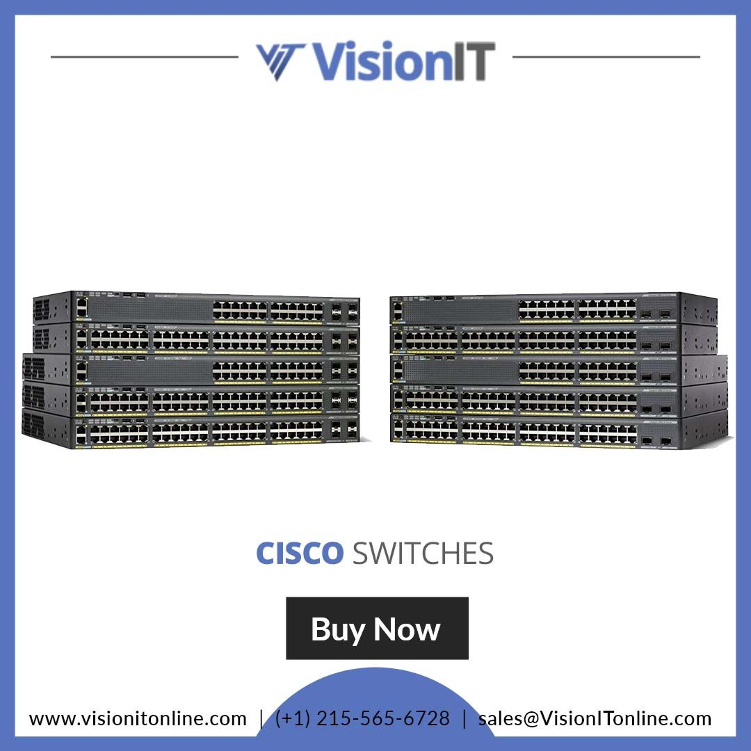 Cisco #switches are used to increase available network
