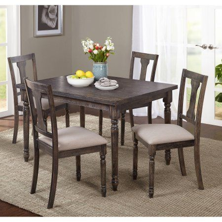 Arena Burntwood Rectangular Dining Table Turnip Style Turned Legs Weathered Rectangular Dining Table French Country Dining Set Traditional Dining Room Table