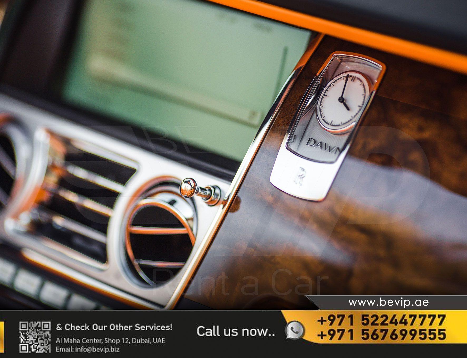 Rolls Royce Dawn For Rent In Dubai Rolls Royce Sports Car
