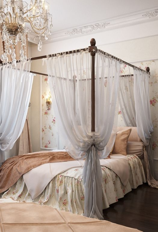 25 Glamorous Canopy Beds For Romantic And Modern Bedroom Decorating Romantic Bedroom Design Modern Bedroom Decor Vintage Bedroom Decor