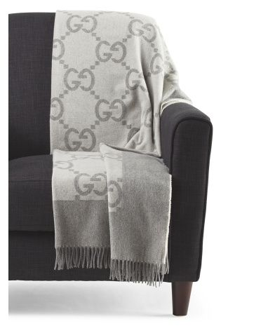 6f32cb5e740 Gucci Cashmere Throw Blanket! YAAASSSS!!