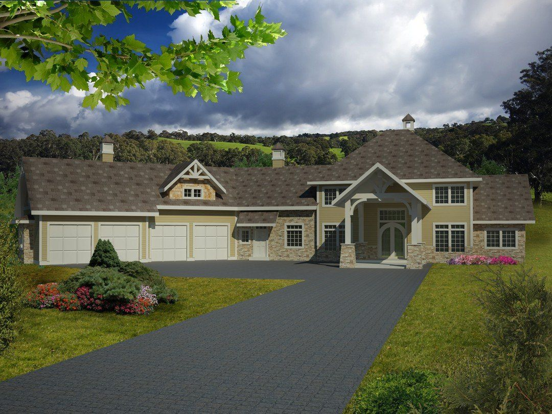HPM Home Plans Home Plan 0013485 House plans, House