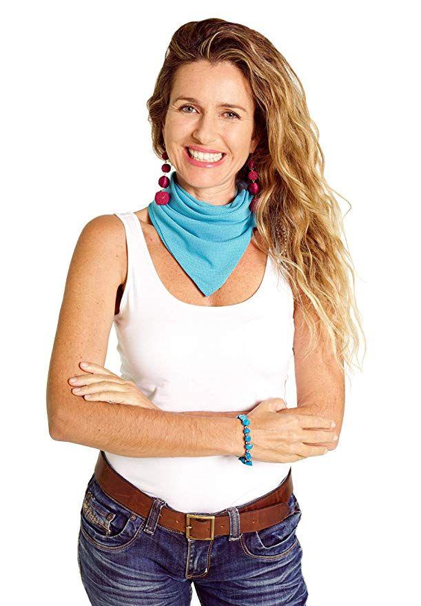 Amazon Com Cooling Bandana By Sheez Cool Clothing Travel