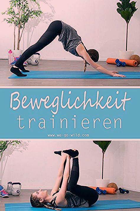 Mit diesen Übungen für zuhause kannst du deine Beweglichkeit verbessern. Das Workout für zuhause ist...