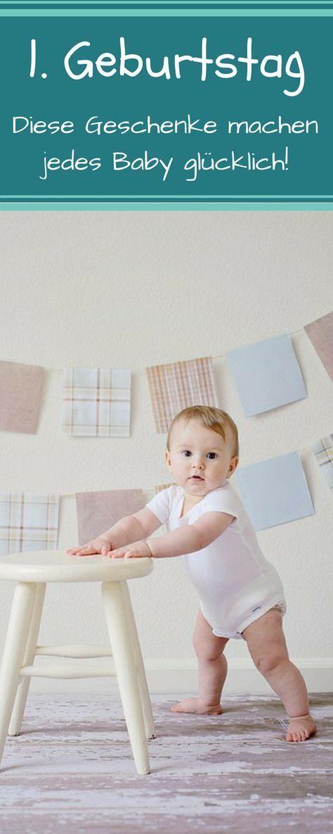 geschenke zum ersten geburtstag f r m dchen und jungen baby baby baby pinterest. Black Bedroom Furniture Sets. Home Design Ideas