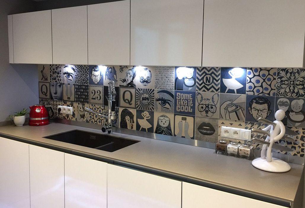 Une Credence De Cuisine Moderne Et Decalee Avec La Collection