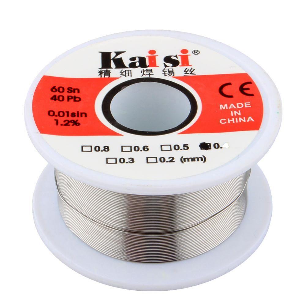 1 Pcs 0.3mm 50g Tin Lead Rosin Core Solder Wire Soldering Reel Weld ...
