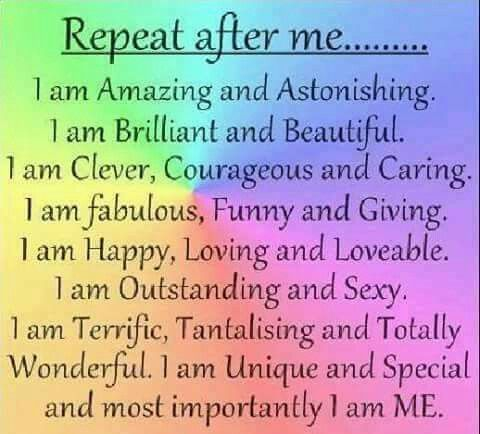 The Power Of I Am Fill In The Blank With Something Positive