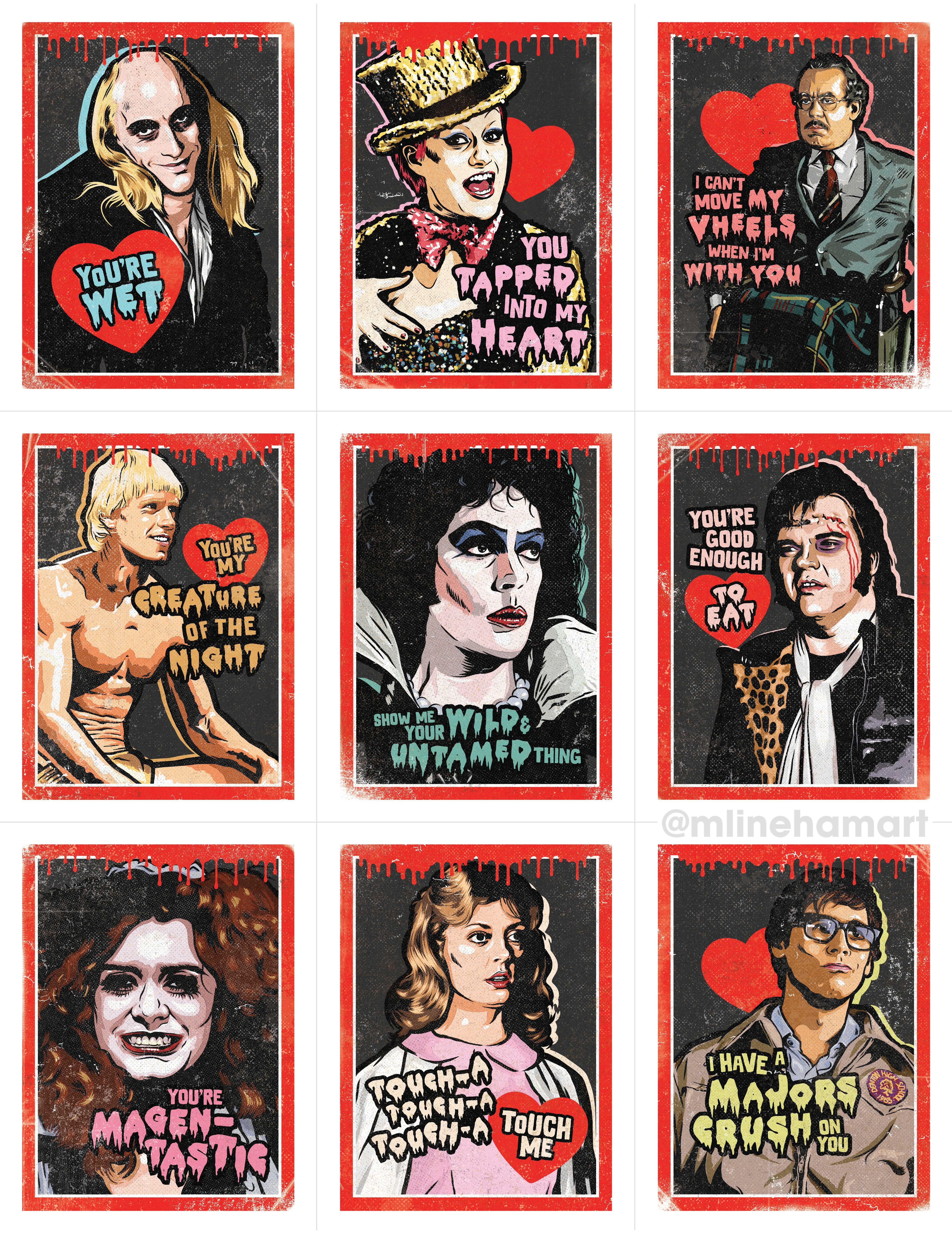 Rocky Horror Valentines Rocky Horror Show Horror Movie Tattoos Rocky Horror Picture