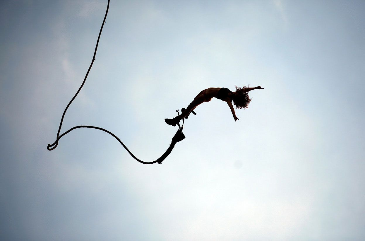 Bungee Jump Wallpaper Wallpapers Pinterest Bungee Jumping