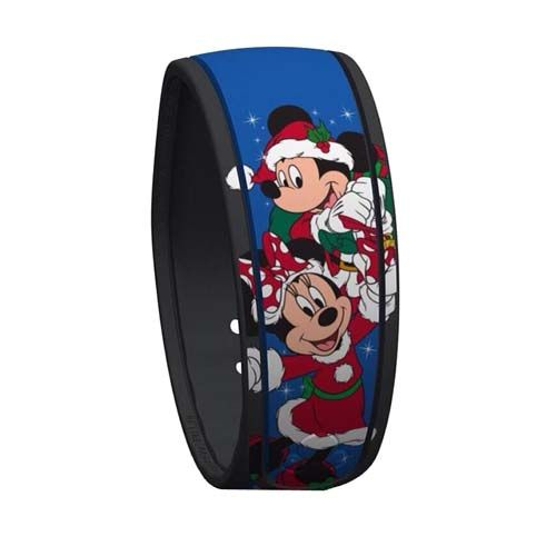 Brand New 2015 Disney Limited Edition Mickey /& Minnie Mouse Santa MagicBand